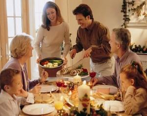 cena navidad familiar