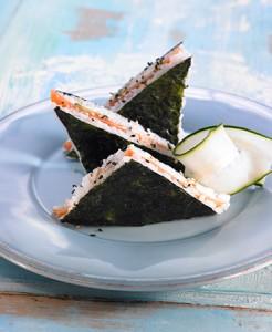 Sanwich orientas algas