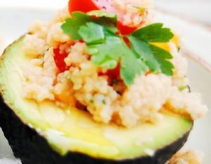 aguacate quinoa