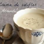 Crema de coliflor- receta del mes