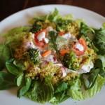Ensalada de quinoa al curry